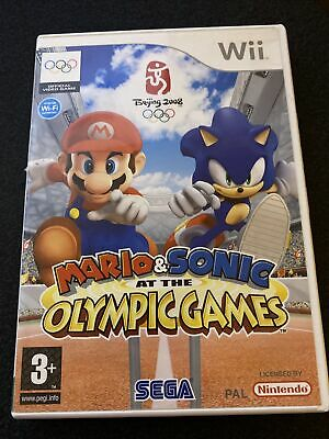Mario & Sonic At The Olympic Games (Wii) • 8£