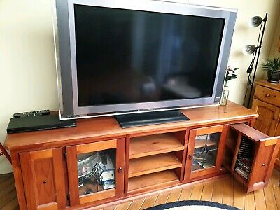AU100 • Buy Timbet Entertainment Unit With 55 Inch Sony TV.