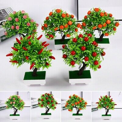 Artificial Plant Weddings 23 Fruits Courtyards Offices Parties Supplies • 8.36£