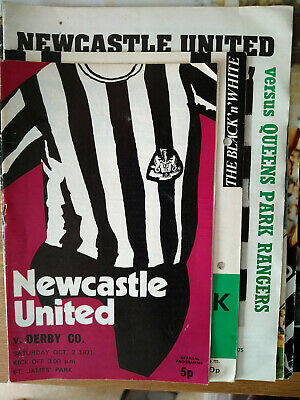 Newcastle United Home Football Programmes 1965-2007 Various • 3.39£