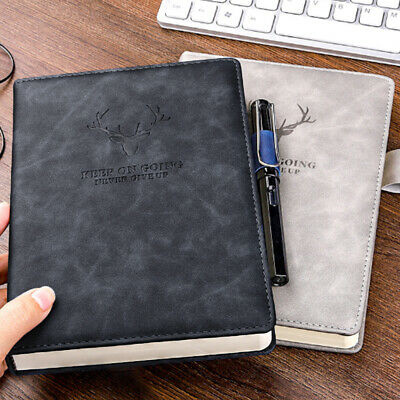 £5.99 • Buy 360 Pages A5 PU Leather Cover Traveler Journal Notebook Lined Paper Diary UK