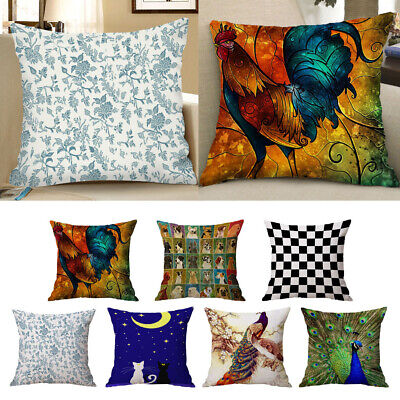 AU12.57 • Buy Square Cushion Cover Throw Cushion Case Decoration Cushion Cover