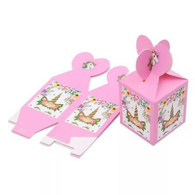AU7.49 • Buy Unicorn Party Candy Box Gift Lollies 6 Pack Tableware Party Supplies AU Stock