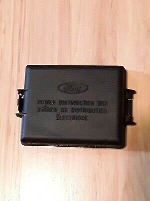 $19.99 • Buy 2002-2004 Ford Mustang OEM Engine Compartment Fuse Box Fusebox Cover Lid Top