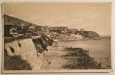 Old Postcard - The Front Looking East - Ventnor - Isle Of Wight. • 1.50£