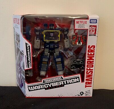 AU76 • Buy Transformers War For Cybertron Trilogy Netflix Soundwave