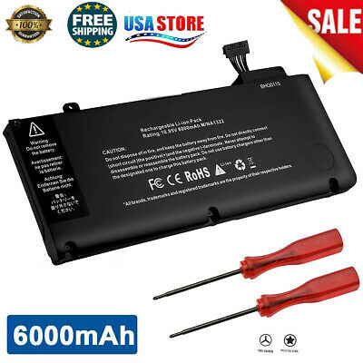 $21.99 • Buy For Apple MacBook Pro 13 Inch Battery Mid 2009 2010 2011 2012 Early A1278