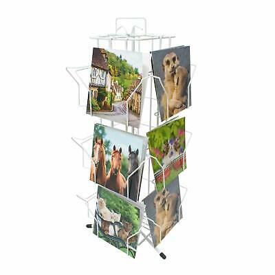 £49.14 • Buy Greeting Card Stand White 12 Pocket Counter Retail Display 7 X 7  Cards (K100W)