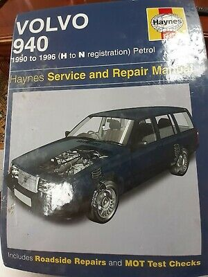 Volvo 940 Haynes Service And Repair Service Manual Used H To N Reg, VGC • 1.30£