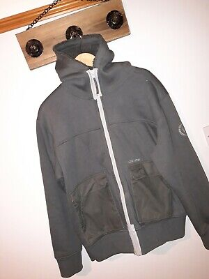 **Duck And Cover** Size Large Green Hooded Top • 2.50£