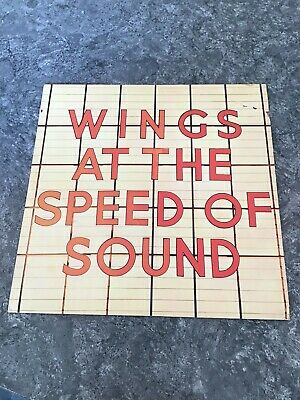 Wings At The Speed Of Sound Vinyl • 2£