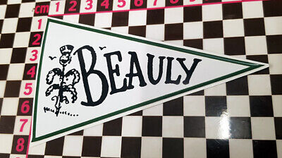 £2.99 • Buy 1960's Style Beauly Scotland Holiday Pennant -  Classic Car Window Sticker