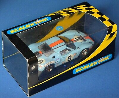 Scalextric C/2404 - Ford GT 40 - 1969 (racing No.6) - Boxed • 24£