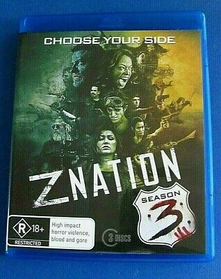 AU13.65 • Buy Z NATION Season 3 BLU-RAY See Below