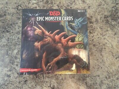 AU48.45 • Buy Dungeons & Dragons D And D 5th Edition 5E Spell Spellbook Cards Epic Monster