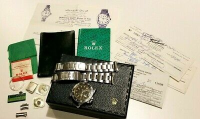 $ CDN7115.36 • Buy 1973 Vtg Rolex Submariner Automatic Watch Ref. 1680 Box Papers Lots Of Extras A