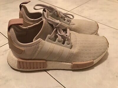 AU80 • Buy Adidas Nmd R1 Womens Size 9.5 Grey And Nude Pink