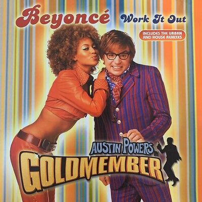 """AU22.50 • Buy Beyonce """"Work It Out"""" 12inch Vinyl Single RnB Record"""