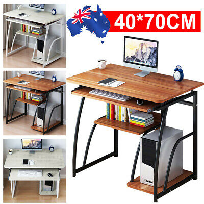 AU89.99 • Buy Office Computer Desk Laptop Table Home Study Workstation Storage Cabinet Shelf