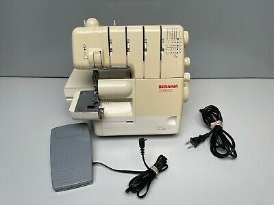 $125 • Buy Bernina 2000DE Serger Sewing Machine With Foot Controller