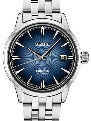 $ CDN426.02 • Buy New Seiko Presage Cocktail Automatic Blue Dial Stainless Steel Bracelet Srpb41