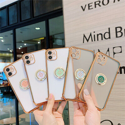 AU10.99 • Buy Clear Stand Case Cover With Magnetic Ring Holder For IPhone 12 XR XS MAX 7 8Plus