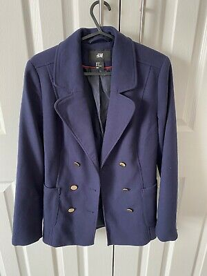 £5 • Buy H&M Navy Blazer With Gold Buttons