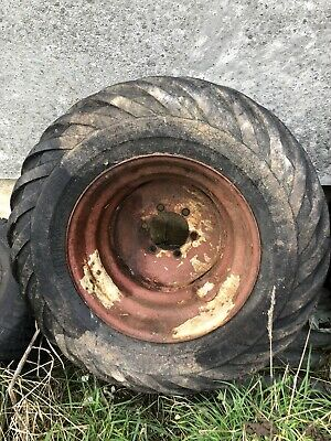 Tractor Front Floatation Wheels & Tyres • 25£