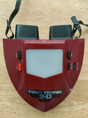 Vintage Tomytronic Sky Attack 3-D. Tomy 3D Handheld Electronic Game - Working • 50£