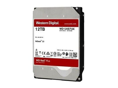 "View Details Western Digital Red 12TB NAS, 3.5"" Internal Hard Drive (WD120EFAX) • 230.00£"