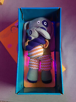 """Latitude Enfant Knitted Granimal Toy New - """"Woolly Daddy And Me"""" • 6.50£"""