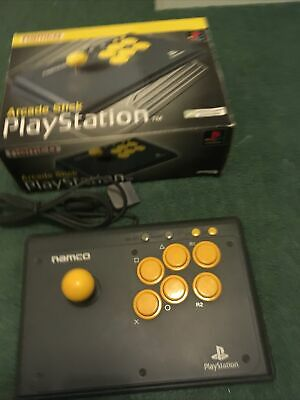 Namco Arcade Stick For Playstation PS1. PS One / Ps 2. Boxed. Tested Working. • 39.99£