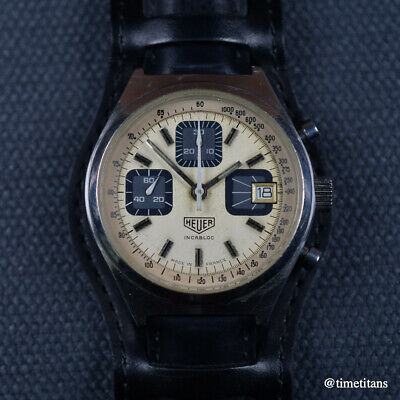 $ CDN2861.32 • Buy HEUER Ref 1614 1970s VALJOUX 7765 MADE IN FRANCE 38MM VINTAGE CHRONOGRAPH STEEL