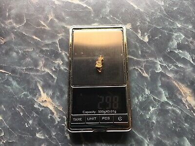 AU268 • Buy Australian Natural Gold Nugget X 1 ...... 2.98 Grams Weight