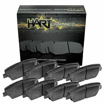 $43.76 • Buy For 12-2005 Acura RL Hart Brakes Front Rear Low Dust Ceramic Brake Pads