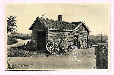 The Smithy Bressingham Norfolk Real Photo Postcard  • 0.50£