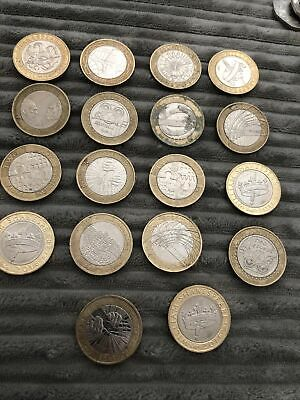 2 Pound Coin Job Lot • 60£