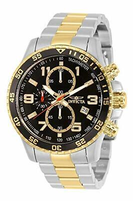 Invicta 14876 Specialty Men's Wrist Watch Stainless Steel Quartz Black Dial • 150.55£