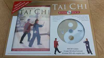 Simply Tai Chi Box Set Book & DVD - Improve Concentration & Mind Focus NEW • 7£