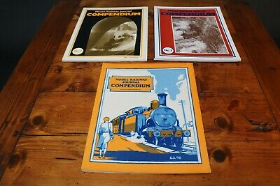 Model Railway Journal Compendium  Vol 1 2 3 OO EM P4 4mm Scale Building Books  • 39.99£
