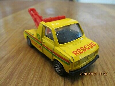 Vintage Corgi Ford Transit Wrecker Truck Die Cast Metal Model 1980s • 1£