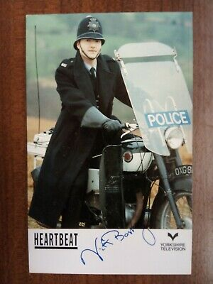 NICK BERRY *Nick Rowan* HEARTBEAT PRE-SIGNED CAST CARD AUTOGRAPH FREE POST • 12.99£