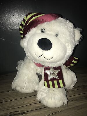 TESCO CHILLY & FRIENDS POGO POLAR BEAR SOFT TOY 2005 SUPERFAST Dispatch • 20£
