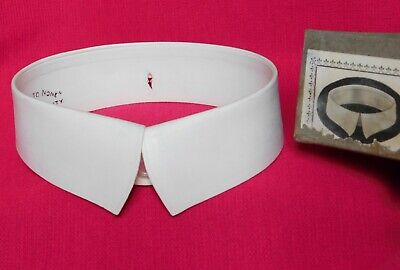 $20.15 • Buy Vintage Starched Shirt Collar Size 14 Detachable UNUSED Second To None Favourite