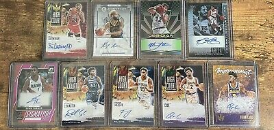 $ CDN1.26 • Buy Auto Lot 9 Cards Robert Covington Christian Laettner Bill Cartwright Obsidian