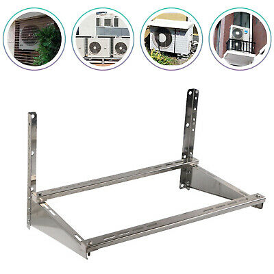 £34 • Buy Air Conditioner Bracket Support Wall Mount Heavy Duty Steel Silver High Quality