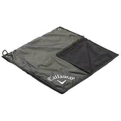 £29.95 • Buy Callaway Golf 2-in-1 Rain Hood & Towel Water Repellent Cotton Fits Most Bags