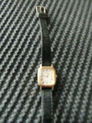 Ladies SEIKO Mechanical  Watch Vintage Leather Strap • 25£