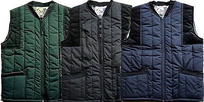 £12.95 • Buy New Men's Padded Quilted Country Leisure Wear Corduroy Lined Body Warmer Gilet