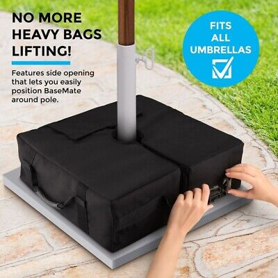 AU20.99 • Buy Umbrella Base Weight Sand Bag Detachable Square Stand Outdoor Parasol Tent Base!